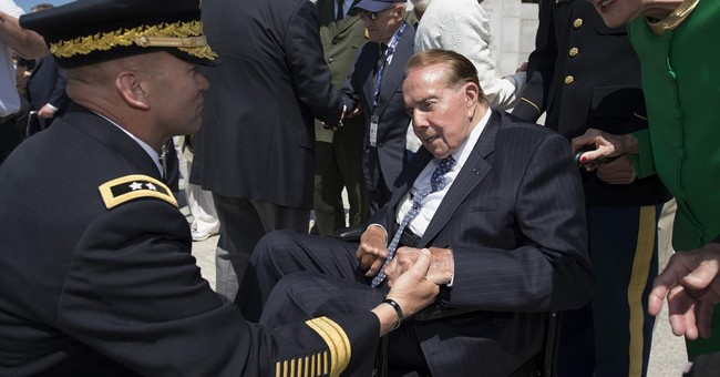 Former Sen. Bob Dole Hospitalized For Low Blood Pressure