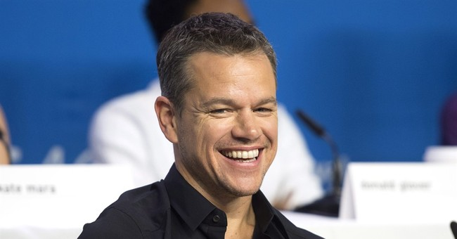 "Hollywood Lib Matt Damon's ""Diversity"" Drama"