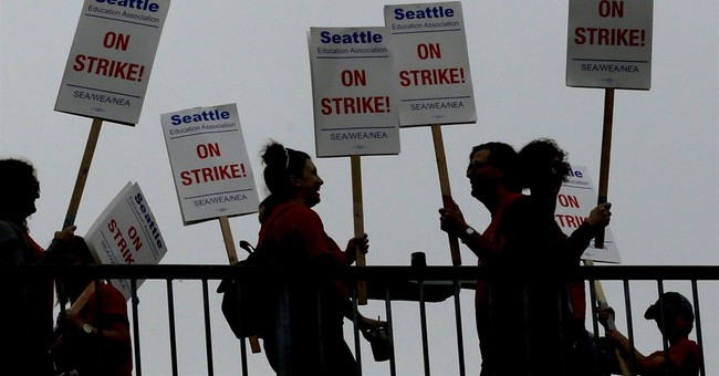 To Win Hearts and Minds, Don't Go On Strike