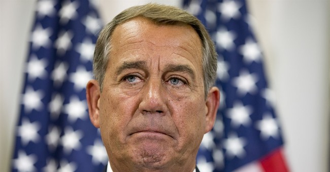 BREAKING: Speaker Boehner Reportedly Resigning at the End of October