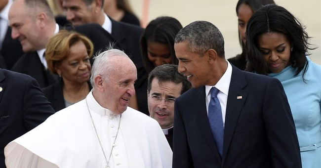 LEAKED: First Draft of White House Itinerary for Pope Francis' Visit