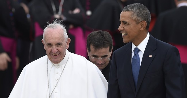 During Meeting With Pope at The White House, Obama Claims To Defend Religious Freedom