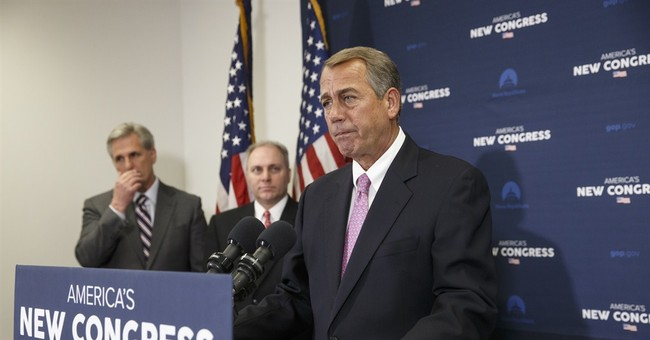 "In Presser, GOP Leadership Blasts Obama's ""Practical"" Budget"