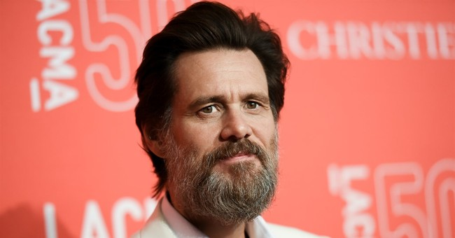 Jim Carrey Mocks Trump Rally in Bizarre Tweet