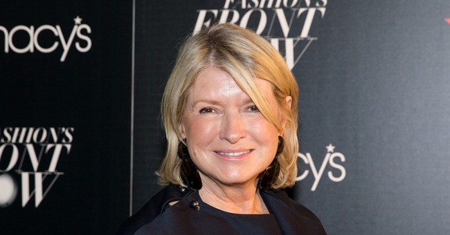 Martha Stewart is Voting For Hillary