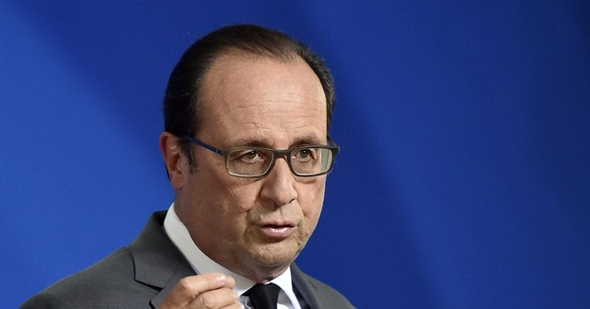 Hollande Vows to Lead a 'Pitiless' War