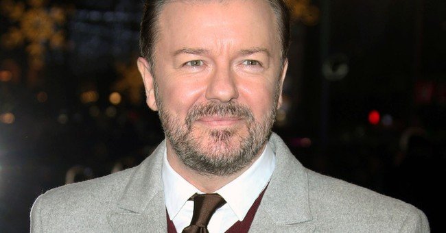 Ricky Gervais Slaps Hollywood Stars for Complaining They're Stuck in Their Mansions