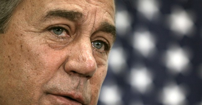 Boehner's Saddest Surrender