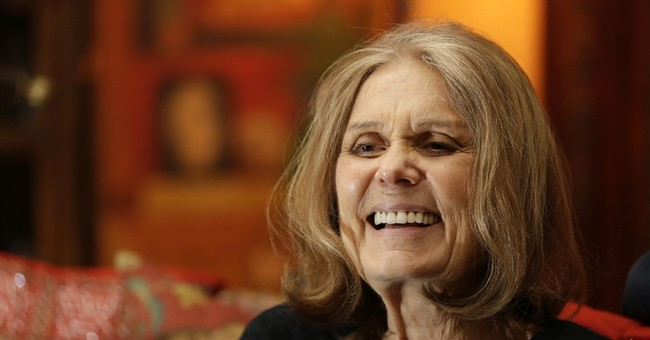 Gloria Steinem: Hillary's Approval Numbers Are Bad Because She's Not A Man
