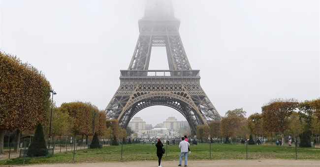 More Arrests Overnight As Paris Stands For A Minute's Silence