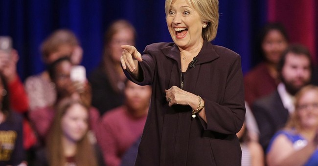 Hillary: If I Hadn't Taken Big Wall Street Donations, the 9/11 Terrorists Would've Won, Or Something
