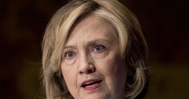 As Swirling Scandals Take Toll, Hillary Retreats Into 'Womanhood' Narrative