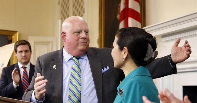 Maryland Gov. Larry Hogan's Approval Rating Hits 70 Percent