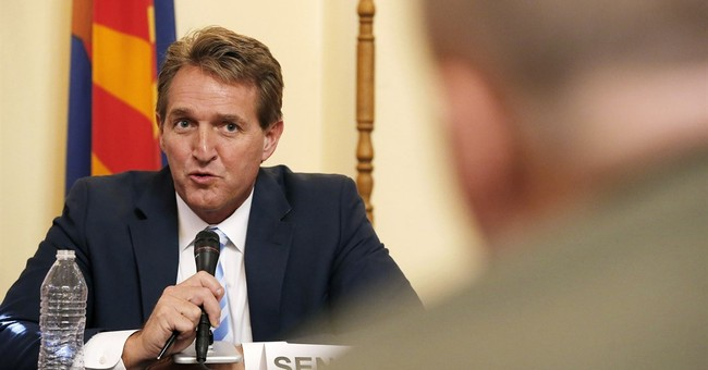 Arizona Sen. Jeff Flake Not Attending RNC