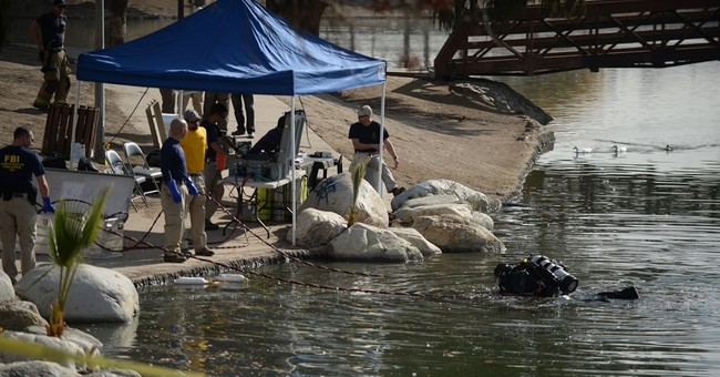 FBI: Items Found in San Bernardino Lake