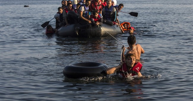 Worst Refugee Crisis Since WWII Balloons in 2015