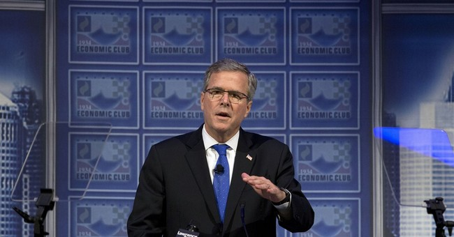 Jeb Bush Makes A Grand Supply Side Entrance
