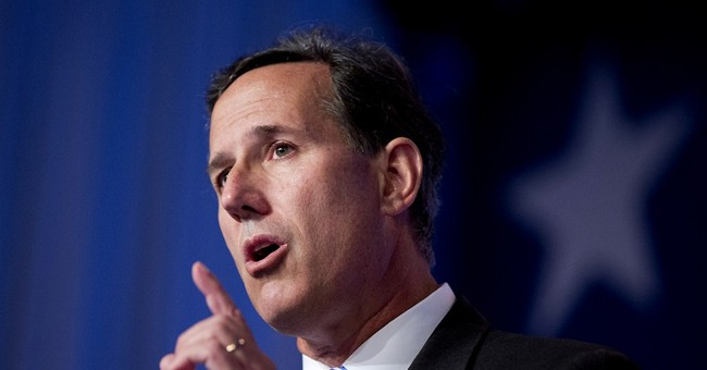 Video: Rick Santorum Strongly Hints He's Running For President