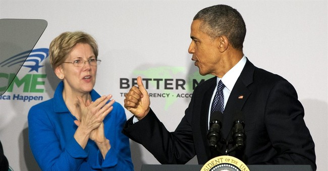Popcorn: Left Slams 'Sexist' Obama Over Spat with Elizabeth Warren