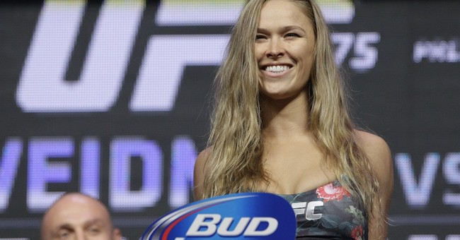 What Liberals Can Learn About How To Succeed At Life From Female UFC Champ Ronda Rousey