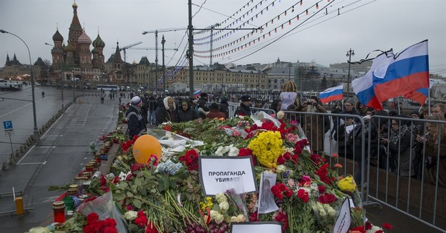 Oppostion Marches in Moscow; Bullets for the Ukraine