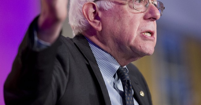Video: Aging Socialist Re-Announces Presidential Campaign, Flanked by Millionaires