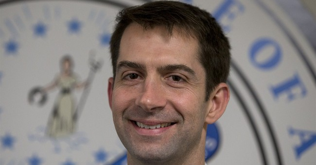 Sen. Tom Cotton Really Really Likes...Birthday Cake