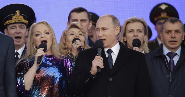 Putin Celebrates Anniversary of Crimea Annexation In Moscow