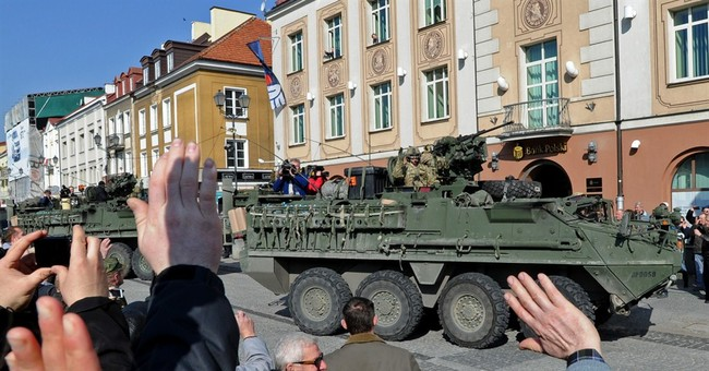 Digging In: US Sending Tanks to Eastern Europe