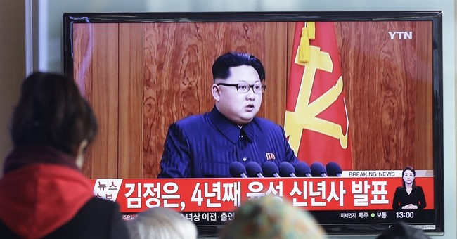 North Korean leader talks war but doesn't comment on nukes