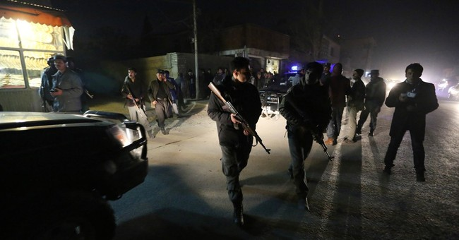 New Year's Day bombing in Afghan capital kills 1, wounds 11