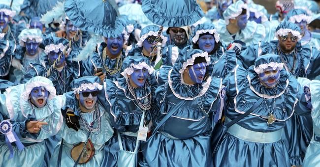 Philadelphia celebrates New Year's Day with Mummers Parade