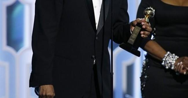 Hanks salutes Denzel Washington as DeMille winner at Globes