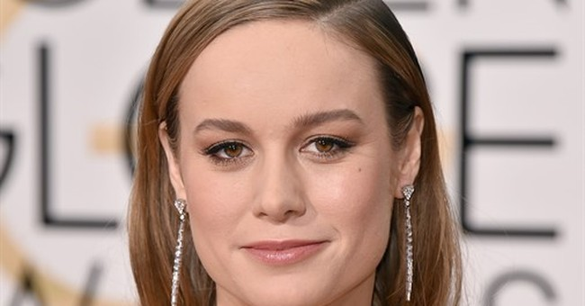 Brie Larson wins best actress in a drama at Golden Globes