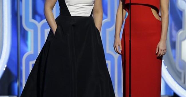Jennifer Lawrence wins Golden Globe for best comedy actress