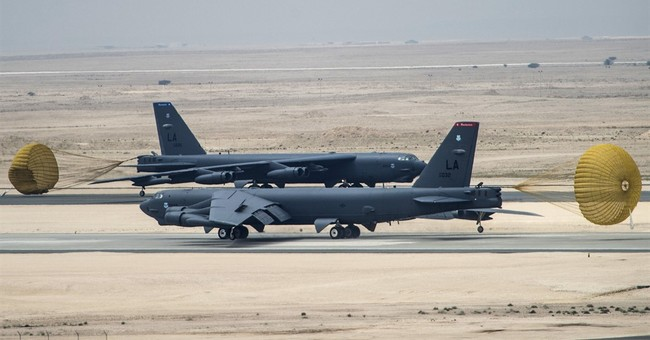 US brings B-52 bombers back to the Mideast to target IS