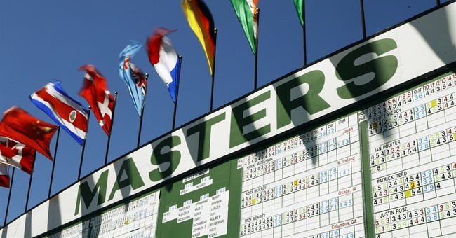 Wind at Augusta taketh, then takes some more