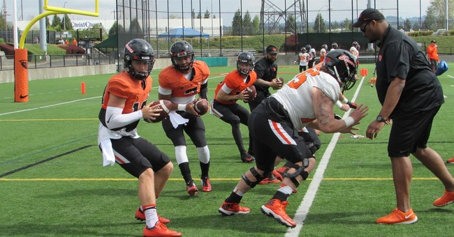 Oregon State holds scrimmage for Portland-area fans
