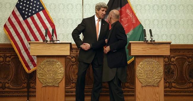 Kerry presses Afghan leaders on unity; no US troop changes