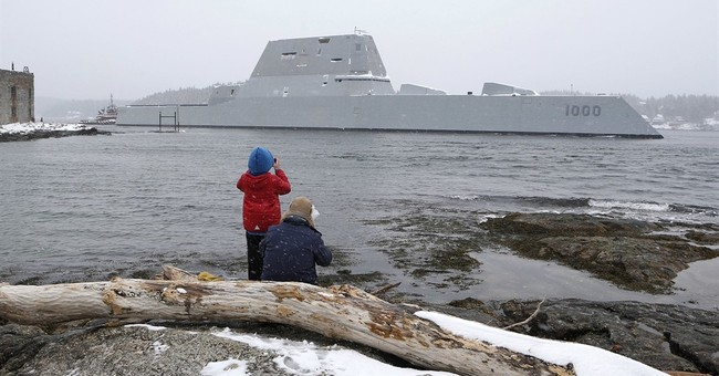 How stealthy is Navy's new destroyer? It needs reflectors