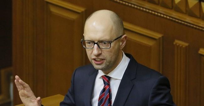 Ukraine's embattled prime minister resigns