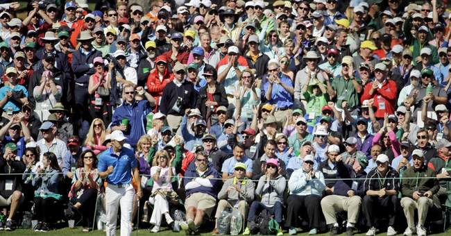 Spieth in control with a Masters victory in sight