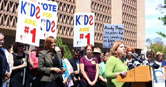 Backers fight for children's health insurance in Arizona