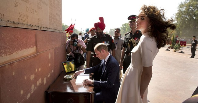 Image of Asia: Prince William, Kate visit India war memorial