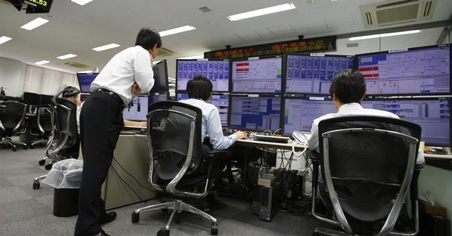 World stock markets edge up amid Chinese stimulus hopes
