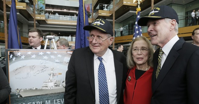 Next US Navy destroyer to bear former Sen. Carl Levin's name