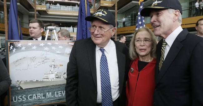 Next US Navy destroyer to bear former Sen. Carl Levin's name