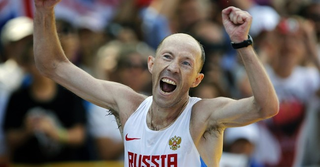 Olympic champion walkers in Russian team after doping bans