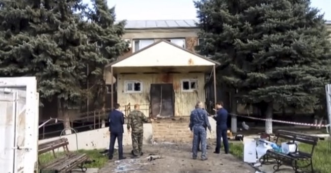 3 militants killed in attack on Russian police station