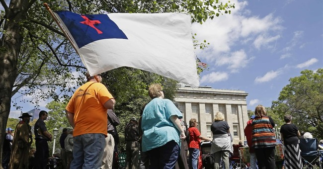 Dueling rallies held over North Carolina LGBT rights law